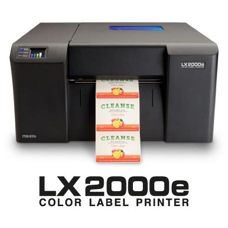 Etiquetadora color LX2000e